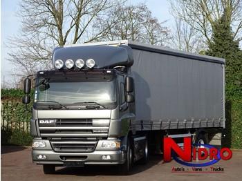 DAF CF75 EURO 5 AIRCO CC TREKKER OPLEGGER - curtainsider truck
