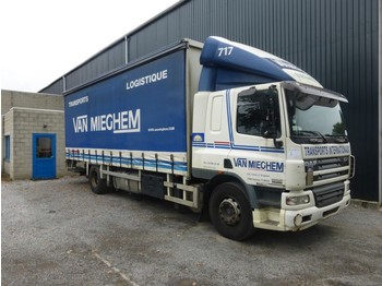Curtainsider truck DAF CF 75 250: picture 1