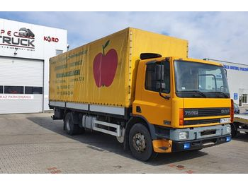 DAF CF 75 250, Steel /Air ,EURO 2 ,Manual - curtainsider truck