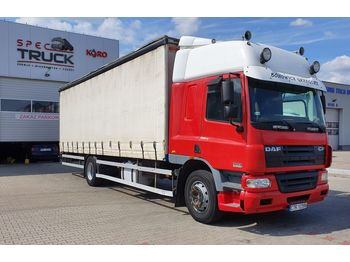 DAF CF 75.310, Steel /Air, Manual, EURO 3, 8.5 meter - curtainsider truck