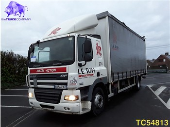 Curtainsider truck DAF CF 85 410 Euro 4: picture 1