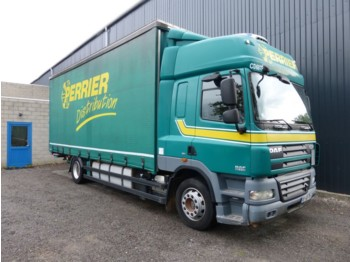 Curtainsider truck DAF CF 85 410 MANUAL