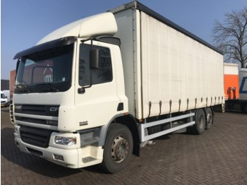 Curtainsider truck DAF FAR CF 75.250 EURO 3