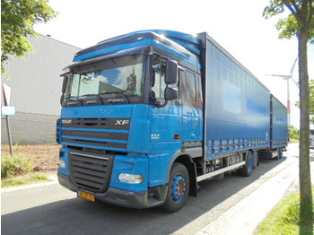 DAF FAR XF105.410 - curtainsider truck