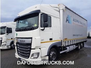 DAF FAR XF460 - curtainsider truck