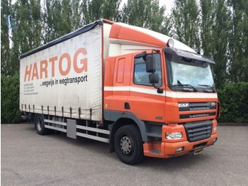Curtainsider truck DAF FA CF85.340 Euro3 Manual