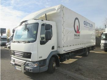 Curtainsider truck DAF LF 12.220 18 palet mit LBW: picture 1