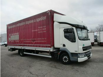 Curtainsider truck DAF LF 12.220 , 2 lIEGE: picture 1