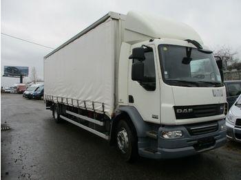 DAF  LF 55.300 21 palet mit LBW  - curtainsider truck