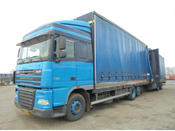 DAF XF 105.410 6X2 - curtainsider truck