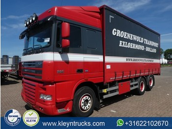 Curtainsider truck DAF XF 105.460 ssc 6x2 fas manual