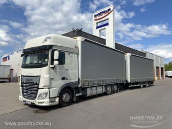 DAF XF 460 FAR Wielton 18+20 Pallets KomplettZug Tandem - curtainsider truck