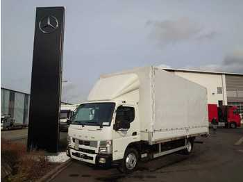 FUSO Mitsubishi Canter 7C18 Pritsche/Plane + LBW  - curtainsider truck