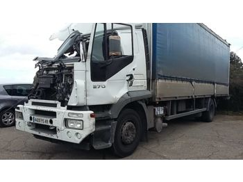 Curtainsider truck IVECO 190S27