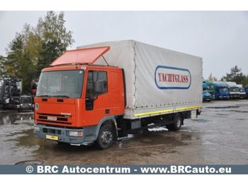 Curtainsider truck IVECO 90E21