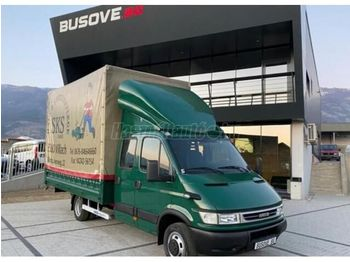 IVECO DAILY 35 C 17 DOKA P+P - curtainsider truck