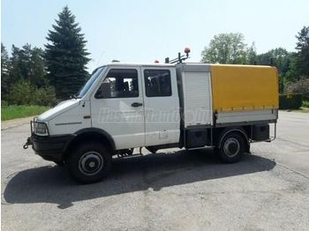 IVECO DAILY 40-10 4x4 DOKA P+P - curtainsider truck