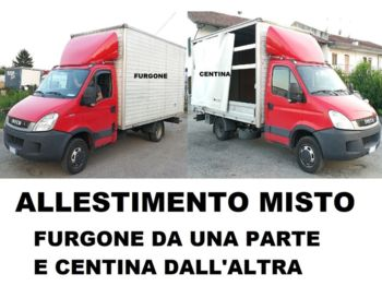 Curtainsider truck IVECO Daily 35C18 - PATENTE B