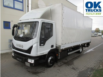 Curtainsider truck IVECO Eurocargo ML75E21/PEVI_C Klima AHK Luftfeder ZV: picture 1