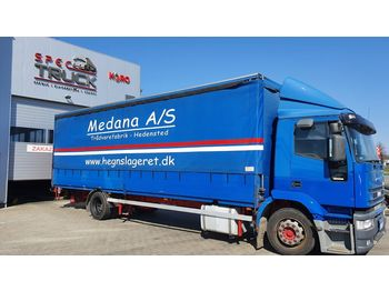 IVECO Eurotech 190E35, Manual, 7 meter , with elevator - curtainsider truck