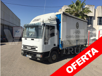 Curtainsider truck IVECO ML 100E18