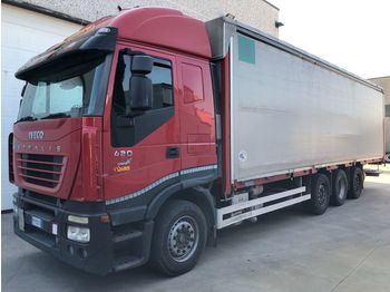 IVECO STRALIS AS260S42 - curtainsider truck