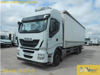 IVECO STRALIS AS260s42Y/PS - curtainsider truck