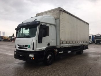 Curtainsider truck Iveco 150E30 Pritsche/Plane, Manual, EEV ,Schlafkabine: picture 1