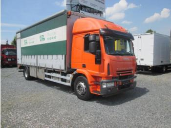 Curtainsider truck Iveco 180E25