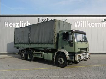 Iveco 240 E 38 Pritsche / Plane  - curtainsider truck
