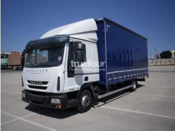Curtainsider truck Iveco 80E22
