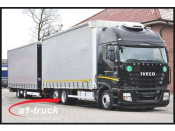 Curtainsider truck Iveco AS260S45Y Jumbozug, Euro5 EEV, 118 cbm.: picture 1