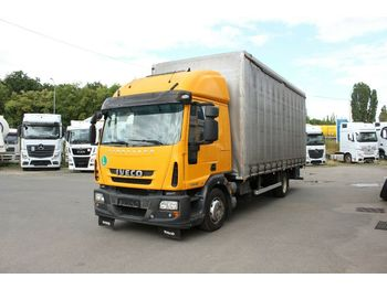 Iveco EUROCARGO ML 120E22 EURO 5, CARRIER FOR FORKLIFT  - curtainsider truck