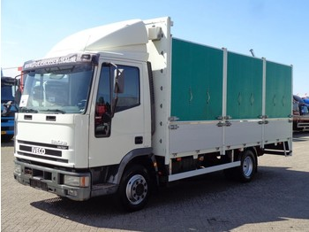 Iveco EuroCargo 80E17 + Manual - curtainsider truck