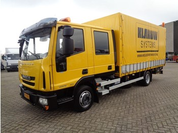 Iveco EuroCargo 80E18 + Euro 5 + Double Cabine + 8 in stock !! - curtainsider truck