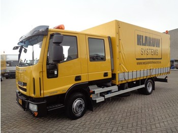 Iveco EuroCargo 80E18 + Euro 5 + Double Cabine + NEWNEWNEW 635KM!! + 8 in stock!!! - curtainsider truck
