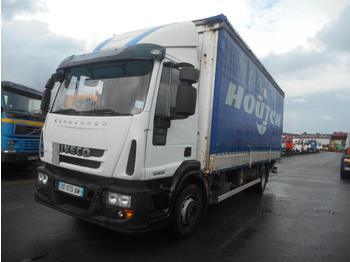 Curtainsider truck Iveco Eurocargo 150E22