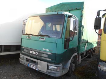 Curtainsider truck Iveco Eurocargo 75E14