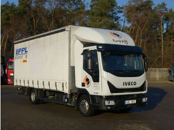 Curtainsider truck Iveco Eurocargo 75E19 LBW