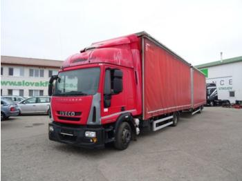 Curtainsider truck Iveco Eurocargo ML 120