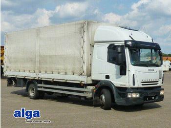 Curtainsider truck Iveco ML120E28/Euro 5/langes Fhs./LBW/7,1 m. lang