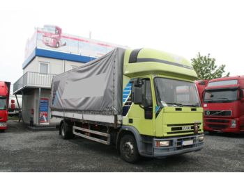 Curtainsider truck Iveco ML120 E 18 MANUAL 4X2