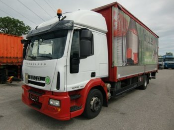 Iveco ML140E25 Plane, Automatic, EEV + LBW Schlafkabine - curtainsider truck