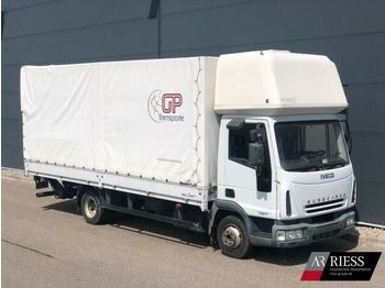 Iveco ML75E17_Pritsche_Plane_LBW_1.5t  - curtainsider truck