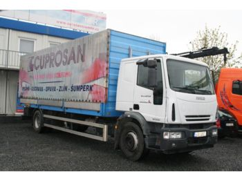 Curtainsider truck Iveco ML 120 E 24 MANUAL 4X2