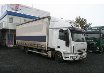 Curtainsider truck Iveco ML 75E18 MANUAL 4X2