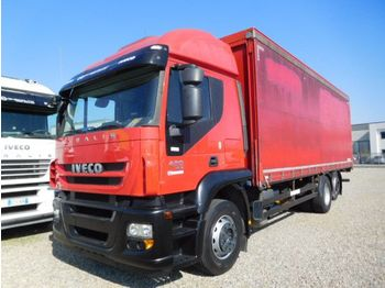 Curtainsider truck Iveco STRALIS 420