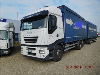 Iveco STRALIS 450 - curtainsider truck