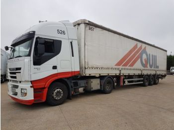 Curtainsider truck Iveco STRALIS 460 ECO 4X2
