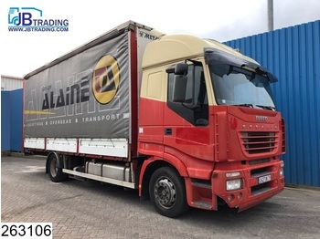 Iveco Stralis 430 AS, Manual, Airco, Analoge tachograaf, Borden - curtainsider truck